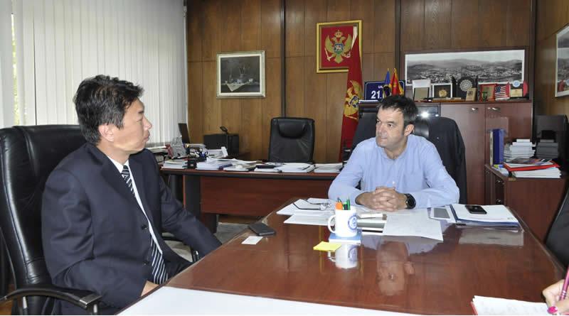 Savjetnik ambasadora Kine u posjeti Pljevljima