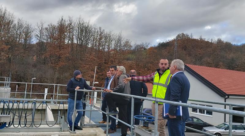 Predsjednik Opštine obišao postrojenje za prečišćavanje otpadnih voda
