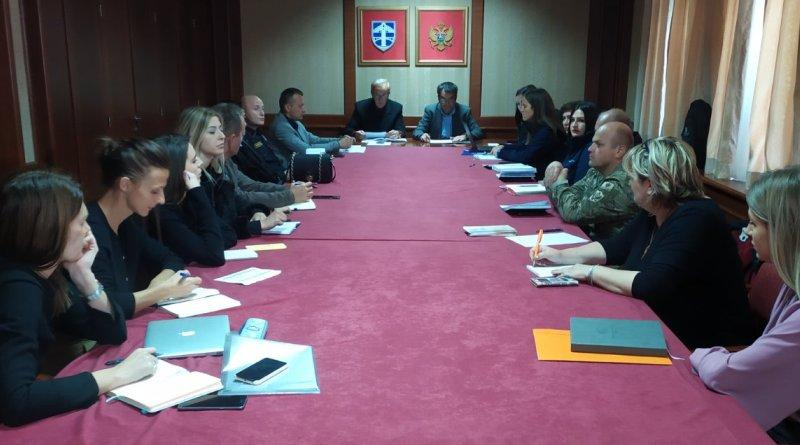 Održan sastanak radnog tima za praćenje migrantske krize: Opština Pljevlja će ostati posvećena problemima migracija