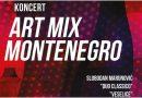 "Muzičko poetski program -""Art Mix Montenegro"""