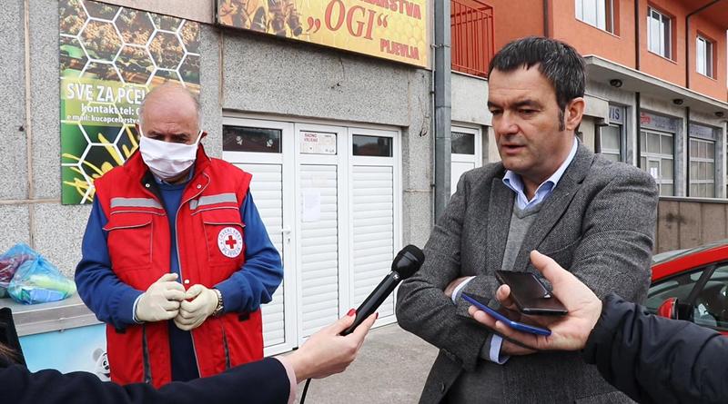 Predstavnici Opštine Pljevlja obišli Crveni krst