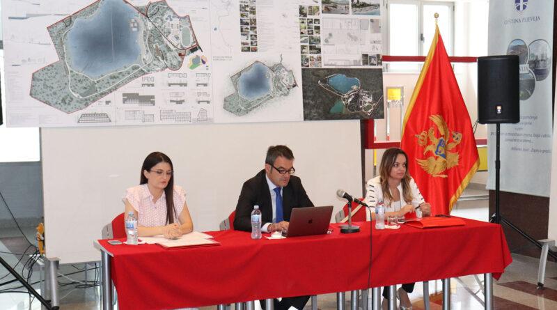 Izabrano idejno urbanističko – arhitektonsko rješenje sportsko rekreativnog kompleksa na Borovičkom jezeru
