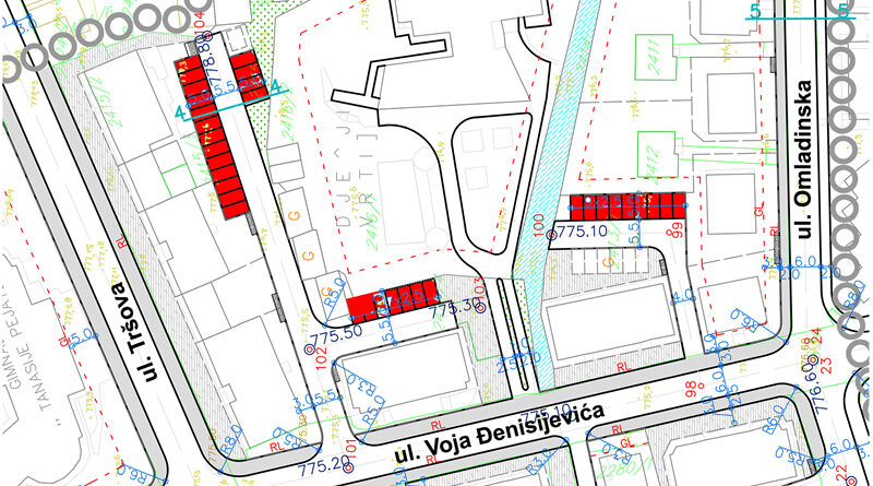 Nova parking mjesta u centru grada