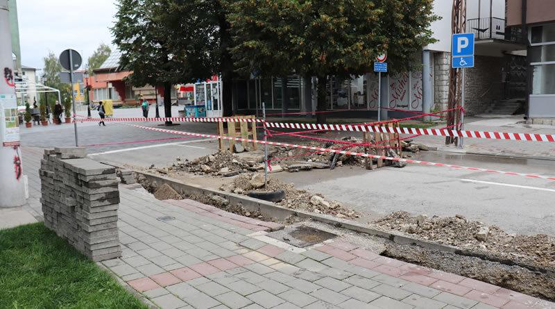 U toku ugradnja nove javne rasvjete u Tršovoj ulici