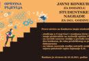 JAVNI KONKURS za dodjelu Studentske nagrade opštine Pljevlja za 2021. godinu